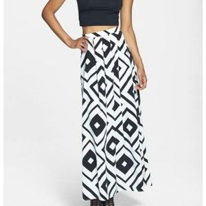 Painted Threads maxi skirt